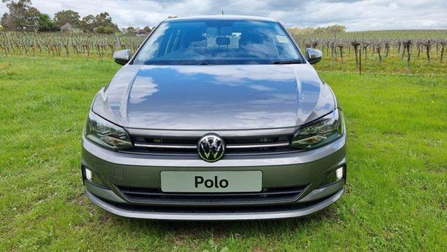 New Volkswagen Polo AW MY21 70TSI DSG Trendline Tanunda, 2021 Volkswagen Polo AW MY21 70TSI DSG Trendline Limestone Grey 7 Speed Sports Automatic Dual Clutch