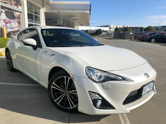 Used Toyota 86 ZN6 GTS Ravenhall, 2014 Toyota 86 ZN6 GTS White 6 Speed Manual Coupe