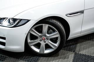 2016 Jaguar XE X760 MY16 Prestige White 8 Speed Sports Automatic Sedan