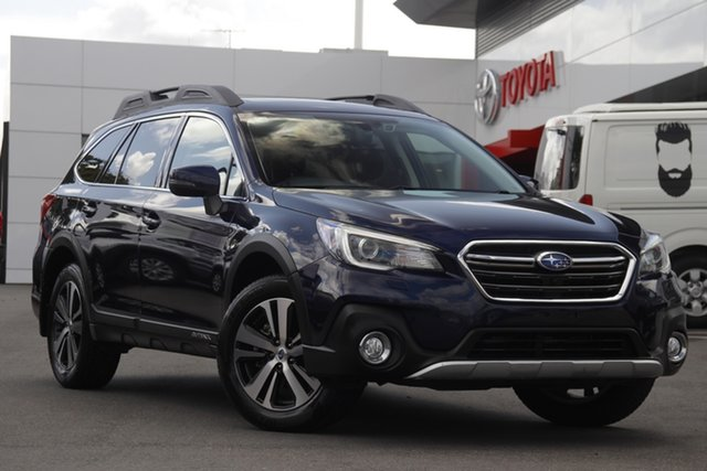 Pre-Owned Subaru Outback B6A MY19 2.5i CVT AWD Premium Woolloongabba, 2019 Subaru Outback B6A MY19 2.5i CVT AWD Premium Blue 7 Speed Constant Variable Wagon