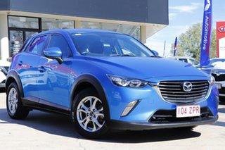 2015 Mazda CX-3 DK2W76 Maxx SKYACTIV-MT Blue 6 Speed Manual Wagon.