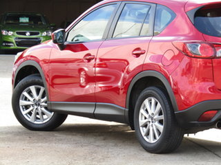 2013 Mazda CX-5 KE1071 Maxx SKYACTIV-Drive Sport Warrior Red 6 Speed Sports Automatic Wagon.