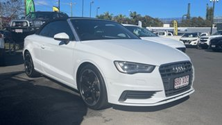 2014 Audi A3 8V MY15 Attraction S Tronic Glacier White 7 Speed Sports Automatic Dual Clutch.