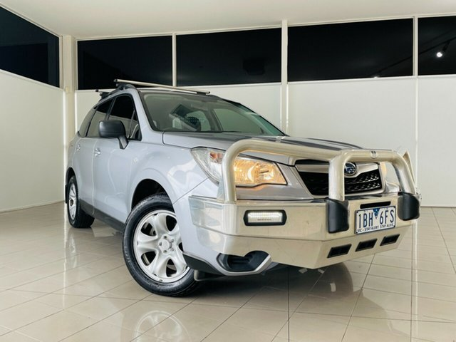 Used Subaru Forester S4 MY14 2.5i Lineartronic AWD Deer Park, 2014 Subaru Forester S4 MY14 2.5i Lineartronic AWD Silver, Chrome 6 Speed Constant Variable Wagon