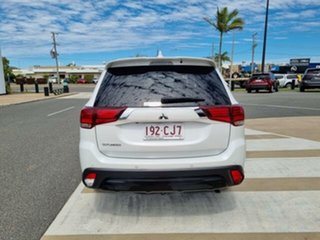 2019 Mitsubishi Outlander ZL MY20 Black Edition 7 Seat (2WD) White Continuous Variable Wagon.