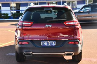 2017 Jeep Cherokee KL MY17 Limited Deep Cherry Red Pearl 9 Speed Sports Automatic Wagon
