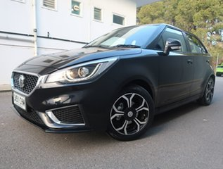 2020 MG MG3 SZP1 MY20 Excite Black 4 Speed Automatic Hatchback.