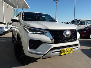 2020 Toyota Fortuner GUN156R Crusade White 6 Speed Automatic Wagon.