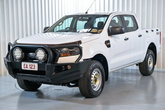 Used Ford Ranger PX MkII MY17 XL 3.2 (4x4) Hendra, 2017 Ford Ranger PX MkII MY17 XL 3.2 (4x4) White 6 Speed Automatic Crew Cab Utility