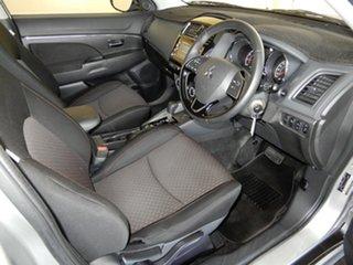 2018 Mitsubishi ASX XC MY19 ES ADAS ( 2WD) Silver Continuous Variable Wagon.
