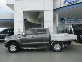 2017 Ford Ranger PX MkII MY18 XLT 3.2 (4x4) Grey 6 Speed Automatic Double Cab Pick Up.
