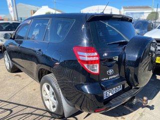 2010 Toyota RAV4 ACA38R MY09 CV 4x2 Black 5 Speed Manual Wagon.