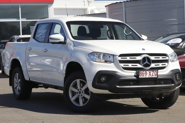 Used Mercedes-Benz X-Class 470 X250d 4MATIC Progressive Toowoomba, 2017 Mercedes-Benz X-Class 470 X250d 4MATIC Progressive White 7 Speed Sports Automatic Utility
