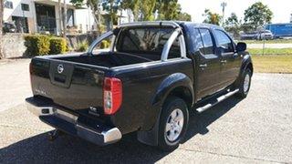 2014 Nissan Navara D40 MY13 RX (4x4) Black 6 Speed Manual Dual Cab Pick-up