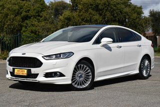 2015 Ford Mondeo MD Titanium White 6 Speed Sports Automatic Dual Clutch Hatchback