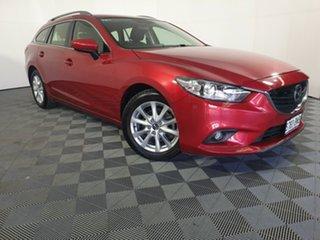 2014 Mazda 6 GJ1032 Sport SKYACTIV-Drive Red 6 Speed Sports Automatic Wagon.