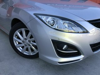 2012 Mazda 6 GH1052 MY12 Touring Silver 5 Speed Sports Automatic Sedan