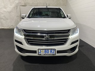 2018 Holden Colorado RG MY18 LS Crew Cab 4x2 Summit White 6 Speed Sports Automatic Cab Chassis