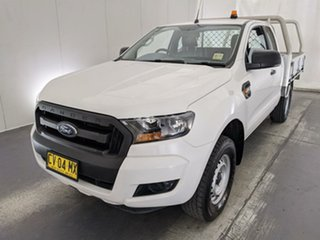 2018 Ford Ranger PX MkII 2018.00MY XL White 6 Speed Manual Cab Chassis.