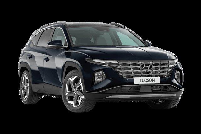 New Hyundai Tucson NX4.V1 MY22 Highlander 2WD Cardiff, 2021 Hyundai Tucson NX4.V1 MY22 Highlander 2WD Deep Sea 6 Speed Automatic Wagon