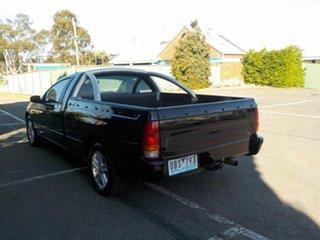 2005 Ford Falcon BA MkII Classic Black 4 Speed Auto Seq Sportshift Sedan