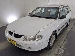 2001 Holden Commodore VX Executive White 4 Speed Automatic Wagon.