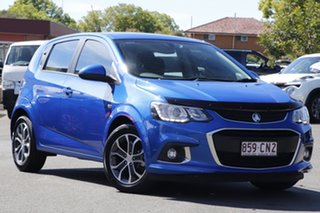 2017 Holden Barina TM MY17 LS Blue 5 Speed Manual Hatchback.