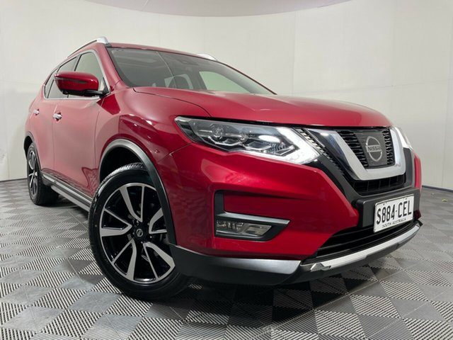 Used Nissan X-Trail T32 Series III MY20 Ti X-tronic 4WD Wayville, 2020 Nissan X-Trail T32 Series III MY20 Ti X-tronic 4WD Red 7 Speed Constant Variable Wagon