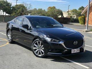 2018 Mazda 6 GL1032 Atenza SKYACTIV-Drive Black 6 Speed Sports Automatic Sedan.