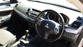 2010 Mitsubishi Lancer CJ MY10 Activ Silver 5 Speed Manual Sedan