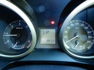 2012 Toyota Landcruiser Prado KDJ150R GXL Silver 5 Speed Sports Automatic Wagon