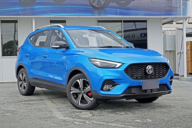 New MG ZST MY21 Excite Springwood, 2021 MG ZST MY21 Excite Blue 6 Speed Automatic Wagon