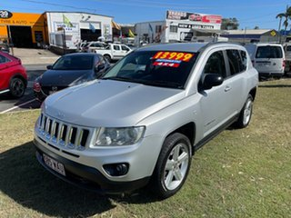 2012 Jeep Compass MK MY13 Limited CVT Auto Stick 6 Speed Constant Variable Wagon.