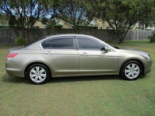 2008 Honda Accord 8th Gen V6 Gold 5 Speed Sports Automatic Sedan.