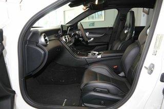 2019 Mercedes-Benz C-Class W205 809MY C63 AMG SPEEDSHIFT MCT S White 9 Speed Sports Automatic Sedan