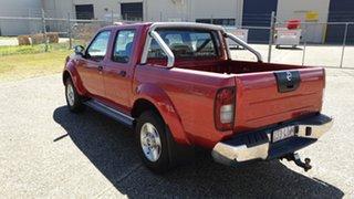2008 Nissan Navara ST-R (4X4) D22 MY08 Red Manual Dual Cab