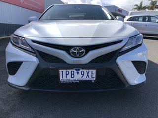 2019 Toyota Camry ASV70R Ascent Sport Frosted White 6 Speed Sports Automatic Sedan