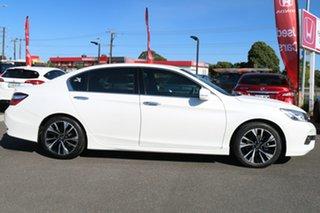2016 Honda Accord 9th Gen MY16 V6L White Orchid 6 Speed Sports Automatic Sedan