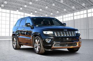 2014 Jeep Grand Cherokee WK MY2014 Overland Black 8 Speed Sports Automatic Wagon.