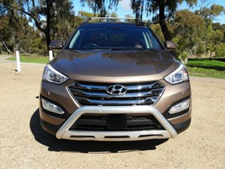 2014 Hyundai Santa Fe DM MY14 Highlander Bronze 6 Speed Sports Automatic Wagon.