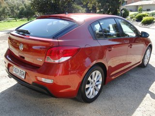 2015 Holden Cruze JH Series II MY15 SRi Red 6 Speed Sports Automatic Hatchback