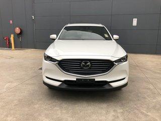 2021 Mazda CX-8 KG2WLA Sport SKYACTIV-Drive FWD Snowflake White 6 Speed Sports Automatic Wagon.