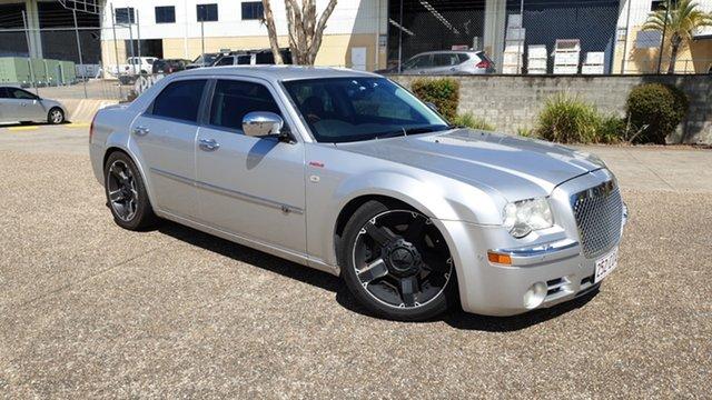 Used Chrysler 300C LE MY08 5.7 Hemi V8 Underwood, 2011 Chrysler 300C LE MY08 5.7 Hemi V8 Silver 5 Speed Automatic Sedan