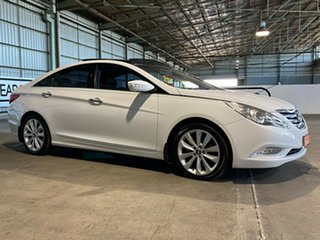 2010 Hyundai i45 YF MY11 Premium White 6 Speed Sports Automatic Sedan.