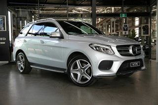2018 Mercedes-Benz GLE-Class W166 MY808+058 GLE350 d 9G-Tronic 4MATIC Silver 9 Speed.