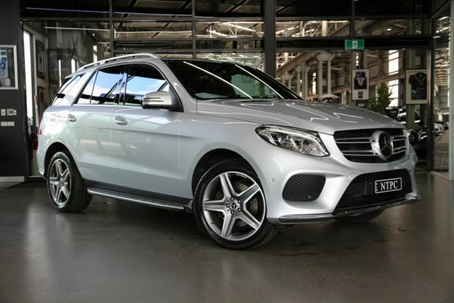 Used Mercedes-Benz GLE-Class W166 MY808+058 GLE350 d 9G-Tronic 4MATIC North Melbourne, 2018 Mercedes-Benz GLE-Class W166 MY808+058 GLE350 d 9G-Tronic 4MATIC Silver 9 Speed