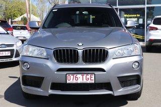 2012 BMW X3 F25 MY0412 xDrive20d Steptronic Grey 8 Speed Automatic Wagon.