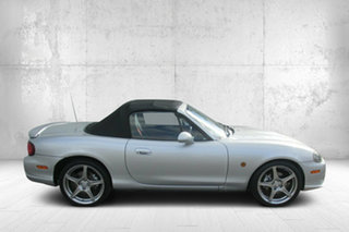 2004 Mazda MX-5 NB30P4 SE Silver 6 Speed Manual Softtop.