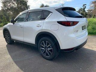 2020 Mazda CX-5 KF Series GT White Sports Automatic Wagon
