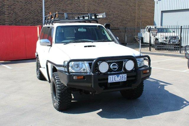Used Nissan Patrol GU IV ST (4x4) Hoppers Crossing, 2006 Nissan Patrol GU IV ST (4x4) White 4 Speed Automatic Wagon
